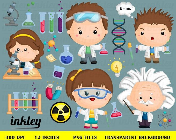 Job And Occupation Clipart Cute Job Clip Art Profession Clipart Free Svg On Request In 2020 Cute Doodles Drawings Clip Art Science Party Decorations