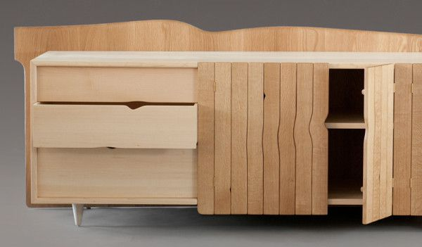 George Dubinsky's newest collection of furniture inspired by the growth of trees
