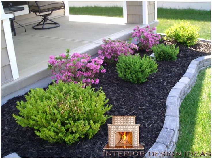 25 best ideas about front house landscaping on pinterest for Simple garden landscape