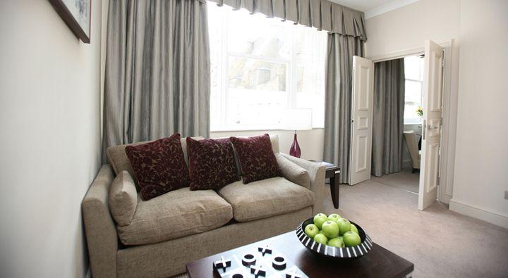A Premier Suite at Rydges Kensington London.