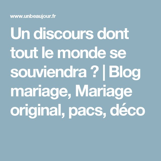 les 25 meilleures id es de la cat gorie citations de discours de mariage sur pinterest. Black Bedroom Furniture Sets. Home Design Ideas