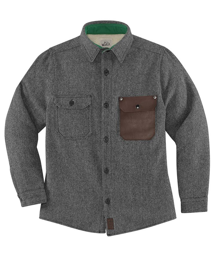 Woolrich X Danner Old Growth Shirt Jacket by WOOLRICH® The Original Outdoor Clothing Company | Made in the USA