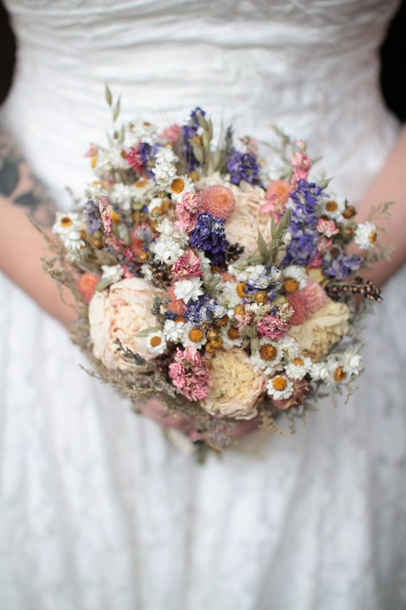 best 20 wildflower bridal bouquets ideas on pinterest