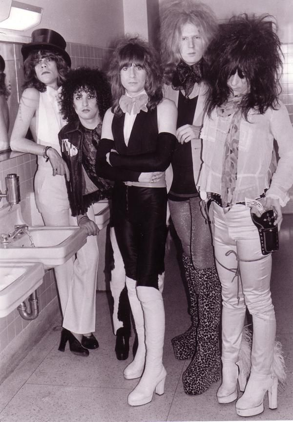 New York Dolls...If we had a HAIR OFF...I'd win!