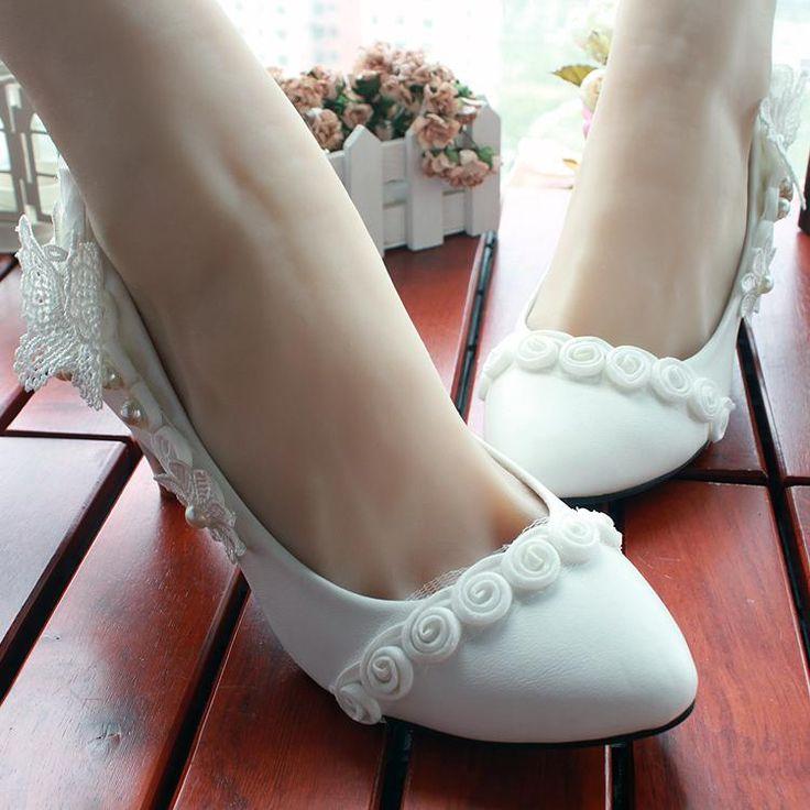multa sposa bianco sposare scarpa scarpe da sposa scarpe rosa bianca di seta del