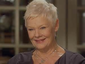 Judi dench hairstyle, Judi dench and Image search on Pinterest