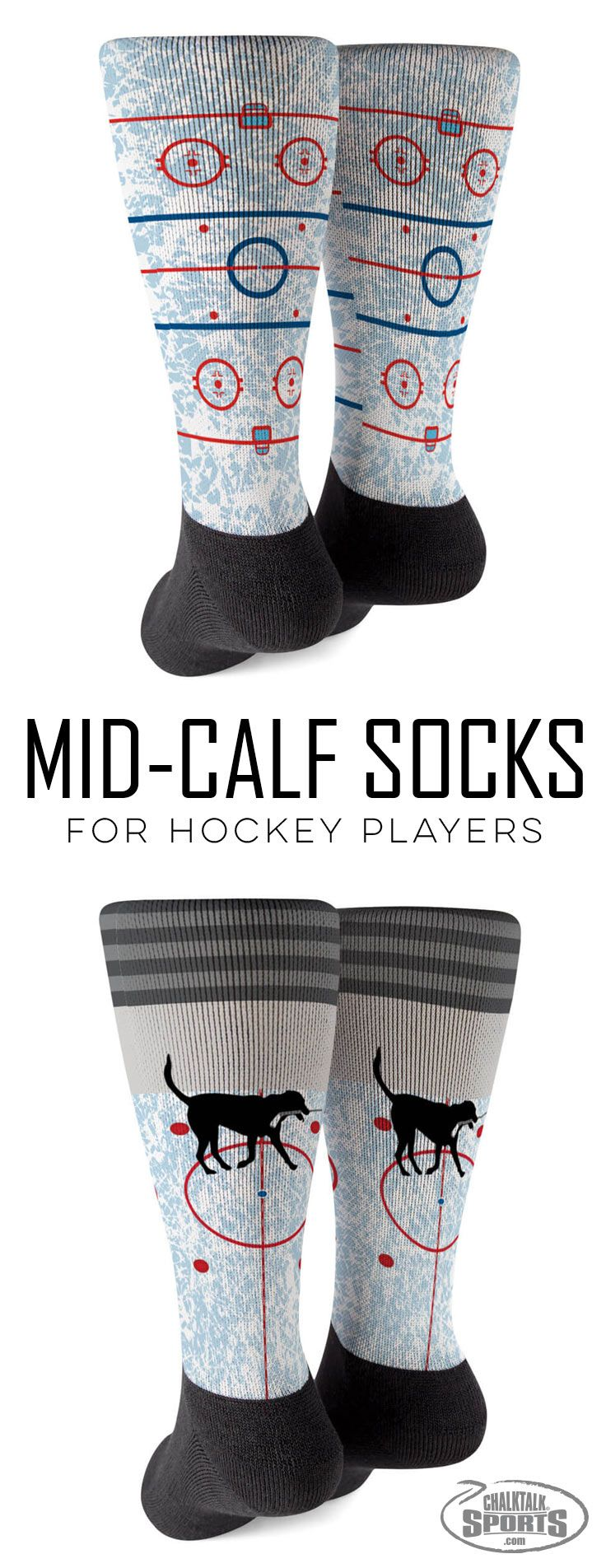 I'm always looking for fun, unique gifts and these hockey-themed socks are absolutely perfect. Fun designs for both boys, girls and adults that perform on and off the ice.