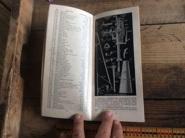 Fourteenth Annual Aermotor 1902 Repair List, Windmill, Amazing Piece | eBay