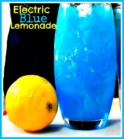 Drink Recipe: Electric Blue Lemonade