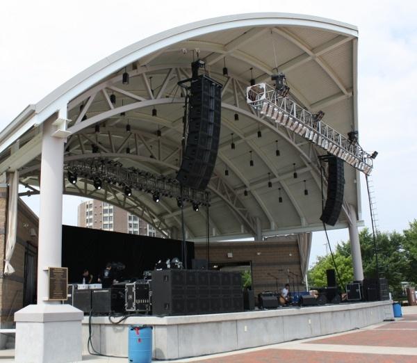 Leach Amphitheater, Oshkosh, Wisconsin http//www