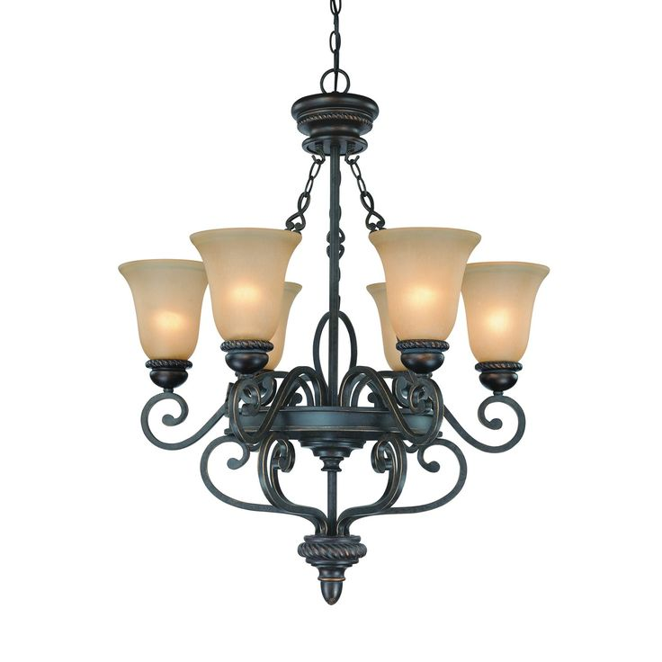 Jeremiah Lighting 25226-MB 6 Light Highland Place Chandelier Mocha Bronze - Lighting Universe  sc 1 st  Pinterest & 246 best chandeliers images on Pinterest | Crystal chandeliers ... azcodes.com