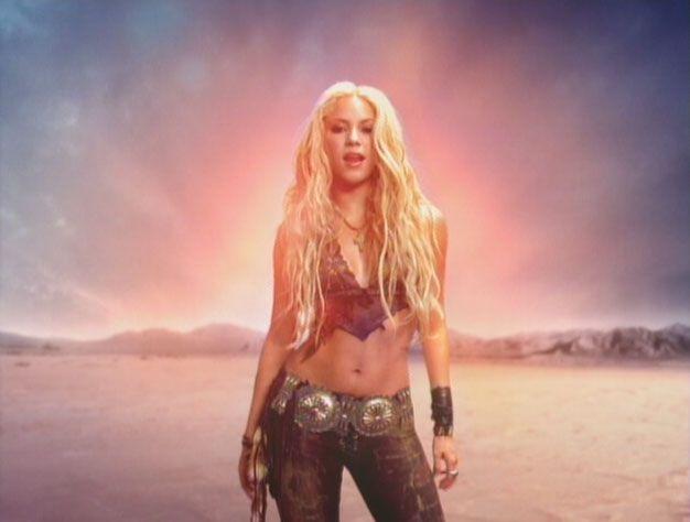 I want Shakira's body