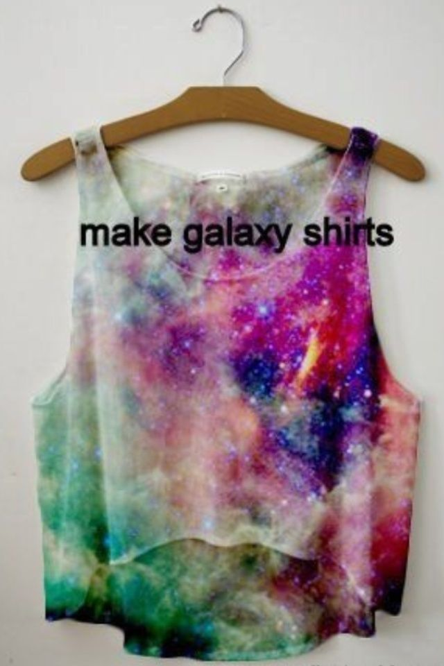 Painting T Shirts With Acrylic Paint Diy Galaxy T Shirt