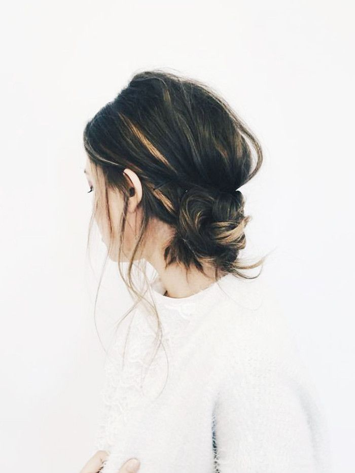"Why ""Banana Buns"" Is the Top Trending Hairstyle in France via @ByrdieBeauty"