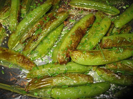 Roasted Sugar Snap Peas Recipe - Food.com: Food.com