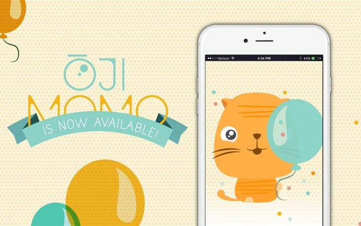 Ōji Momo stickerpack for iOS 10 messages is so cute and funny!