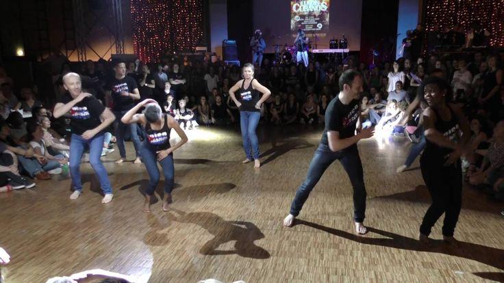 Atelier chorégraphique Salsa con Elegua au Paris Salsa Festival 2016  - ...