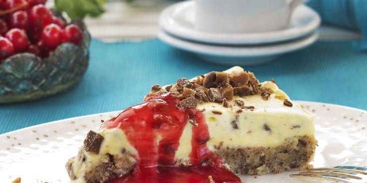 Daimkake - Herlig kake for deg som elsker Daim-sjokoladen.