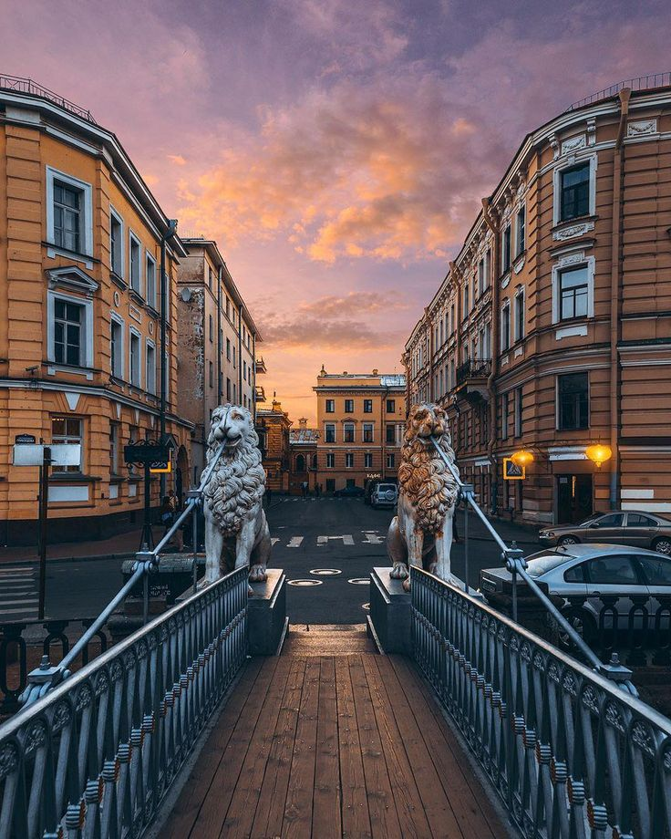 Evening at Lion Bridge