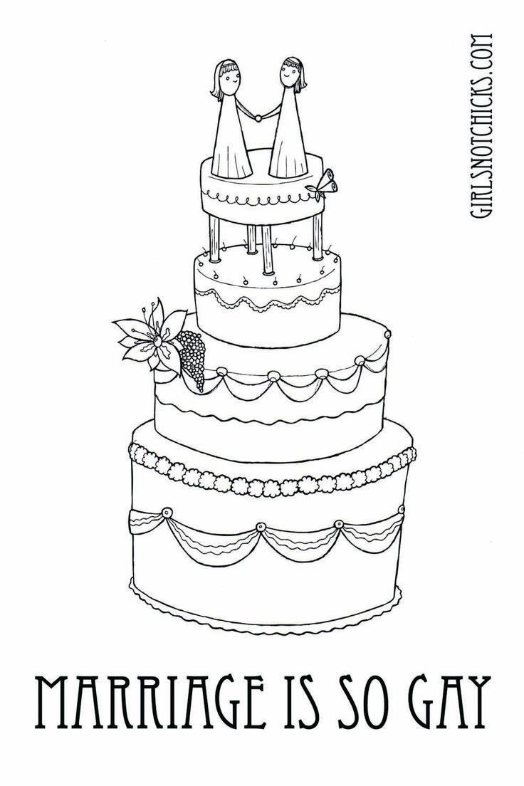 wedding coloring book lesbian