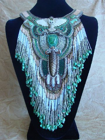 Ancient Forest ~ Free Spirit. A collection of fine beadwork by Heidi Kummli