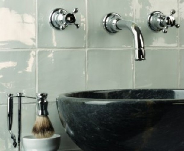 wandtegels badkamer landelijk klassiek wit - Google zoeken