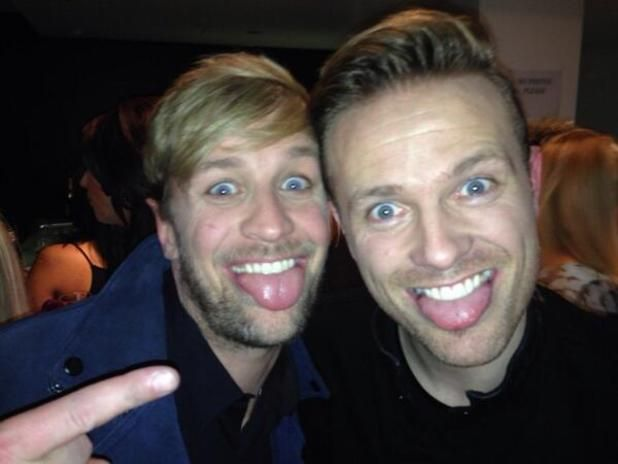 Nicky Byrne and Kian Egan