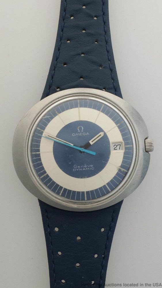 Cool Vintage Mens Omega Dynamic Watch Mid Century Interchangeable Band Model #OMEGA