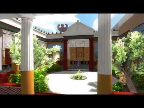 Step into this Digitally Reconstructed House from Ancient Pompeii