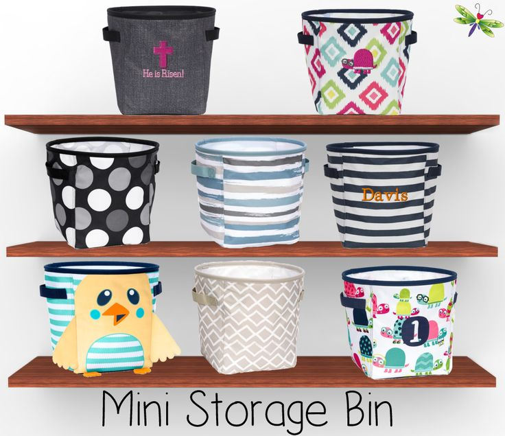 The Mini Storage Bin Is Not So Perfect Catch All For Every Room In House Use It To Organize Any Cluttered Areas Like Pl