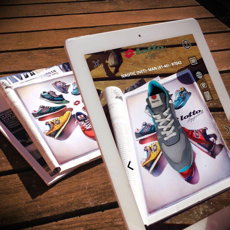 Per divertirti con la nuova collezione spring/summer 2015 ti basta uno smarphone, l'app Sayduck e il marker della campagna!! #shoes
