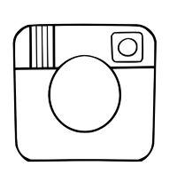 "Stamp ""Instagram logo"" 8 cm"