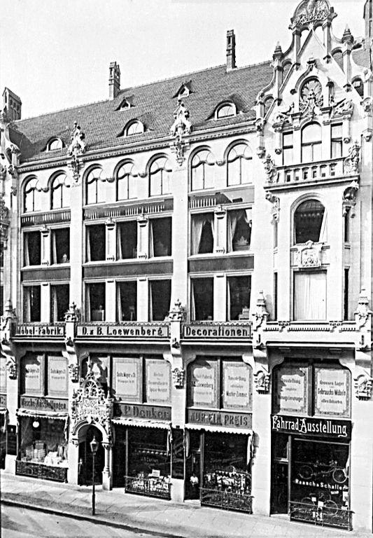 Leipziger Straße 114, B. Loewenberg Möbel & Dekorationen
