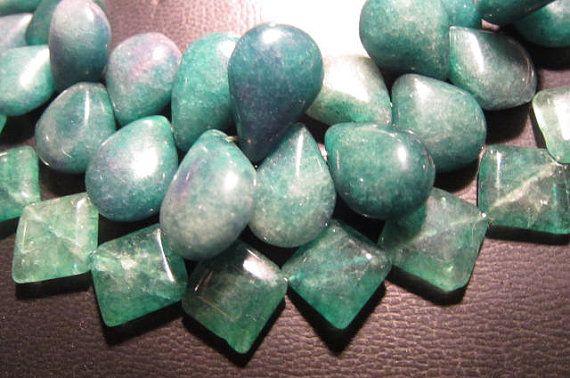 Groene jade ketting groot
