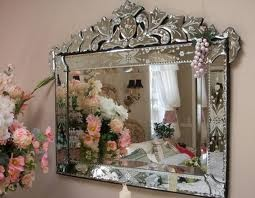 venetian glass mirror