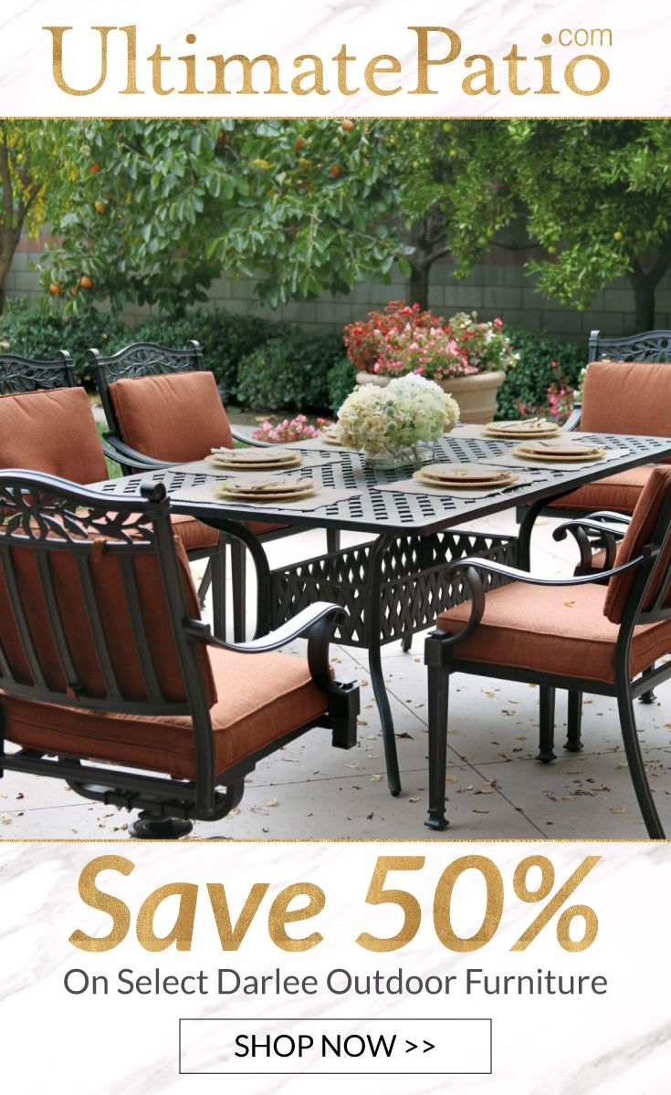 Surprising Save 50 On Select Darlee Outdoorfurniture During The Interior Design Ideas Inesswwsoteloinfo