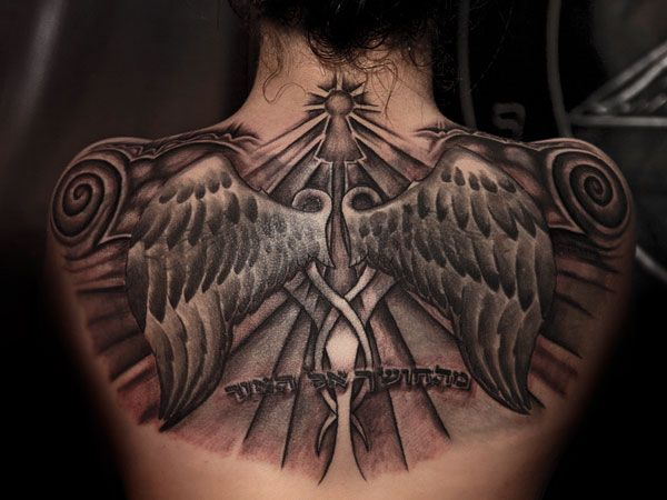 Tattoo for Girl across Shoulder   wings 35 Girls With Tattoos You Should Check Today