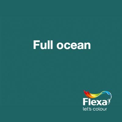 Collectie: Pure Kleur: Full Ocean URL: http://www.flexa.nl/nl/kleur/full-ocean