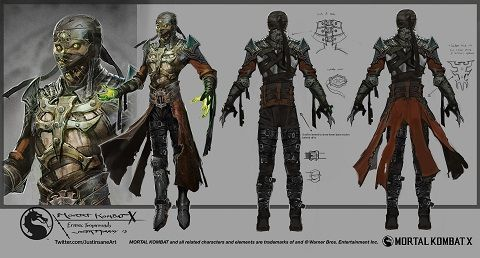 Mortal Kombat Online - Mortal Kombat X - EXCLUSIVE: Mortal Kombat X Ermac Concept Art - Page 1