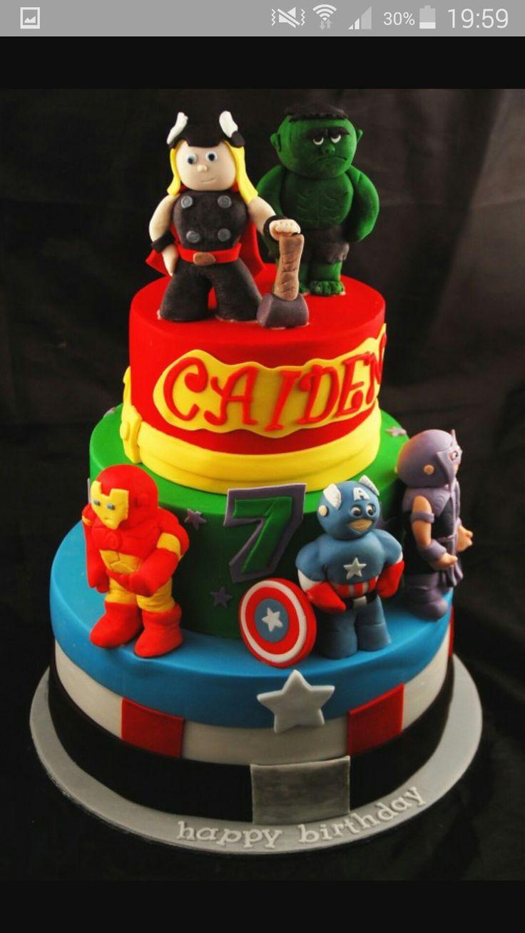 16 best Noahs 2nd Birthday Avengers images on Pinterest