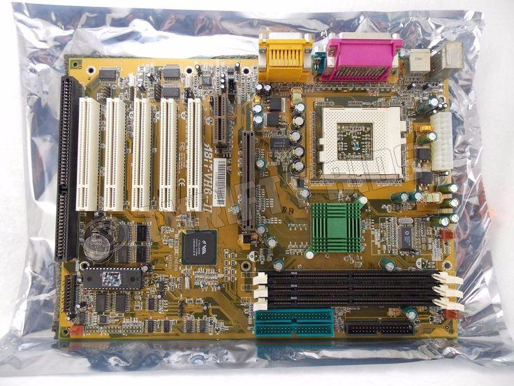 ABIT VH6-II Socket 370 Intel Motherboard For Pentium III Celeron Board Only #ABIT