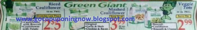 Go Couponing Now: Save on Green Giant Frozen Food At Market Basket 1...