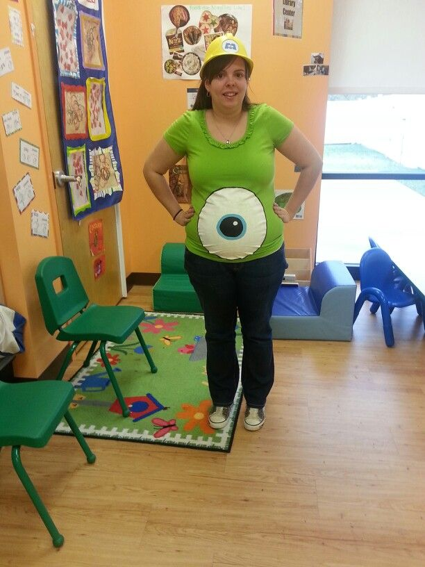 Monsters inc costume! DiY