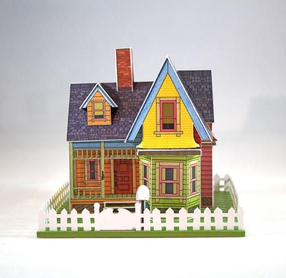 Make Your Own Miniature House Inspired By The Movie Up Digital