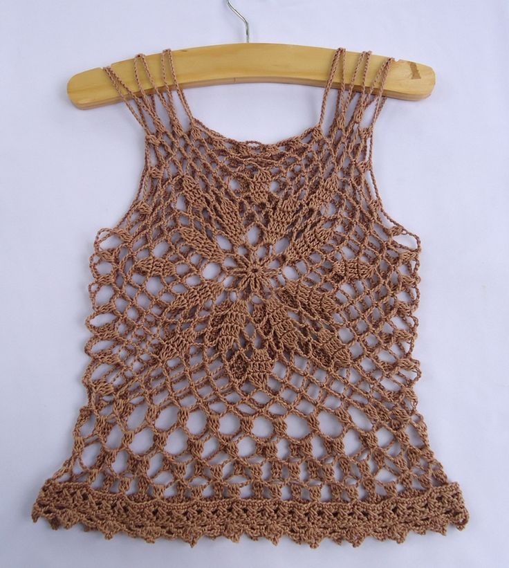 I made this one a while ago, but just took a photo over the weekend (just as I cannot find out a model :)).   Pattern for this summer top ca...
