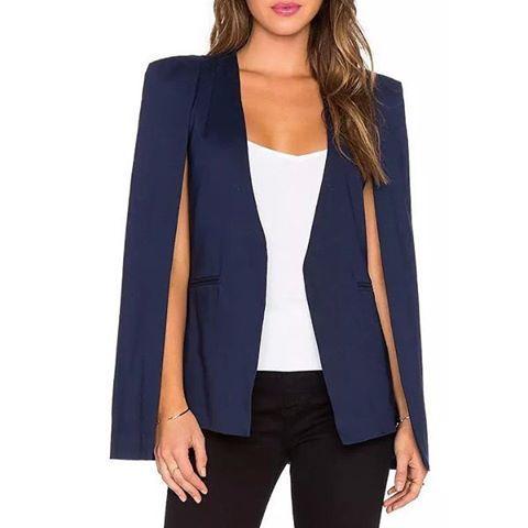 "#NewArrival - be a boss dress like a boss with our ""Dolman Jacket"". #teambad #badapplecouture #boss #status #fashion #fashionista #love #classic #classy #stylish #trendy #bosslady #work #job"