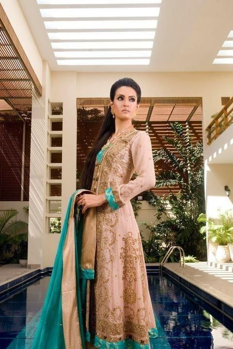 PBD is your complete wedding and bridal shop / store which gives you excellent made to order Bridal Wedding Dresses whether its Saree, Lehgna Choli, Sharara or Ghararas you can choose from collection of 2000+ Designs updated every day, simultanously provide us with your designer photograph and get best rates by emailing it to us at support@pakistanibridaldresses.org -  Instead Of 680 You can get this Bridal Dress in $600.