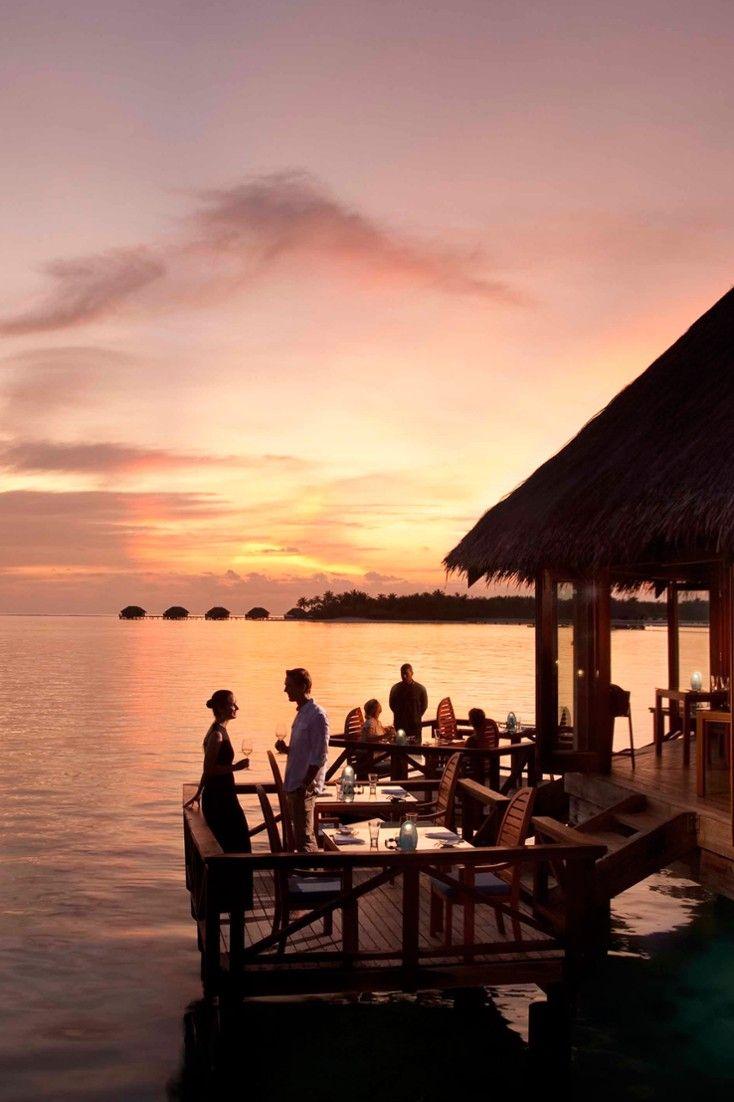 Sunset Grill Restaurant serves fresh seafood paired with an extensive wine menu. Conrad Maldives Rangali Island (Maldives) - Jetsetter