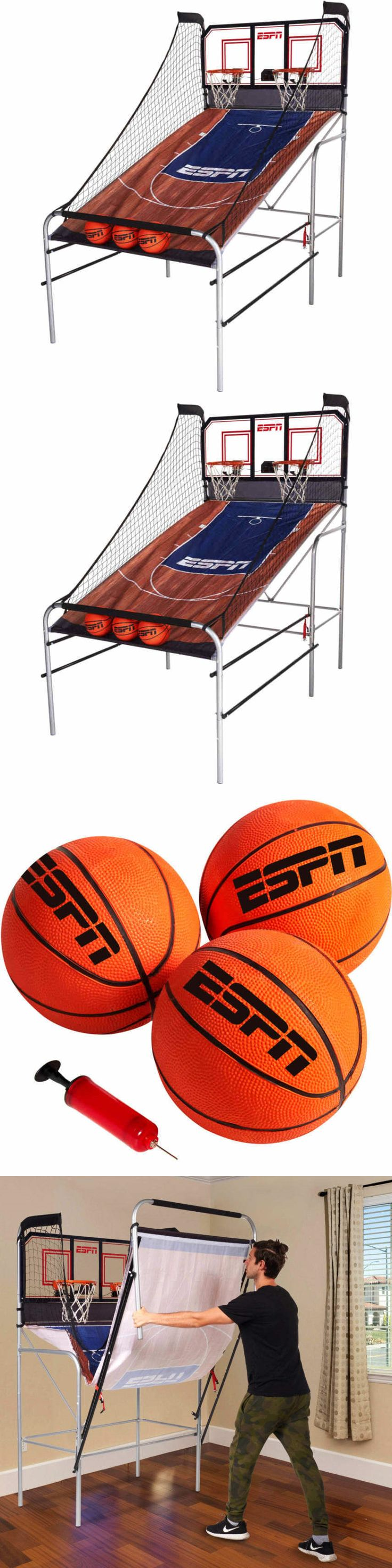 Other Indoor Games 36278: Espn 2-Player Basketball Game With Authentic Pc Backboard -> BUY IT NOW ONLY: $165.27 on eBay!