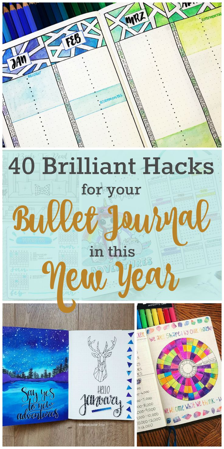 Setting up a new bullet journal doesn't need to be overwhelming. Here you'll find TONS of examples on how to plan for the future and track the present.